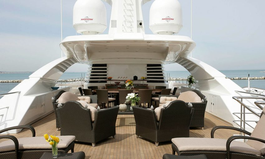 Smania modern yacht italian furniture