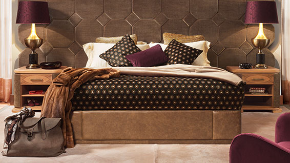 luxury bedroom Smania