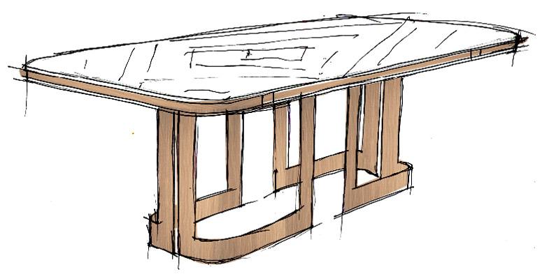 Paul - italian style dining room sets