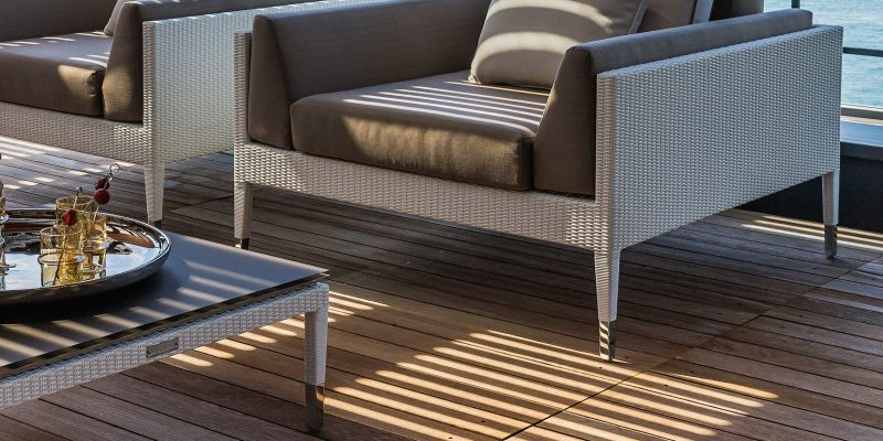 Smania luxury modern outdoor furniture