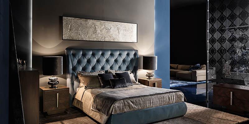 Smania modern style bedroom furniture