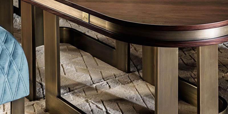 Smania_isaloni04_classic table design