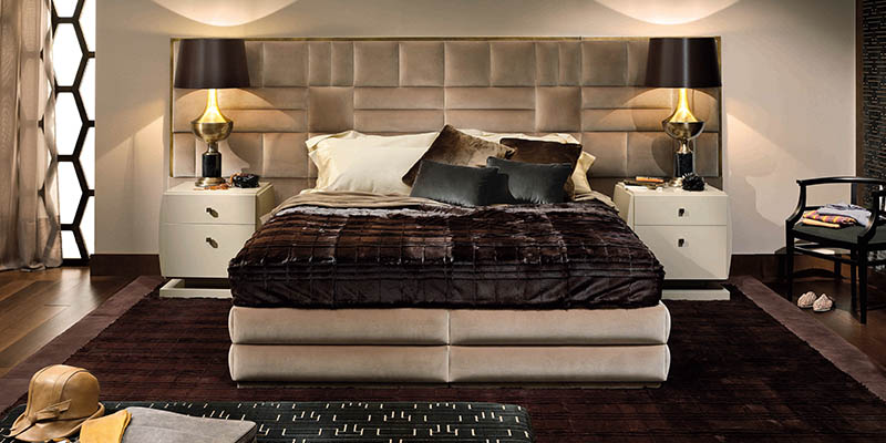 Smania luxury bedroom sets furniture