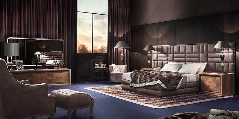 Smania bedroom furniture luxury