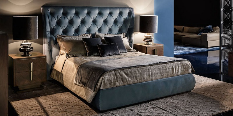 Smania classic decor bedroom
