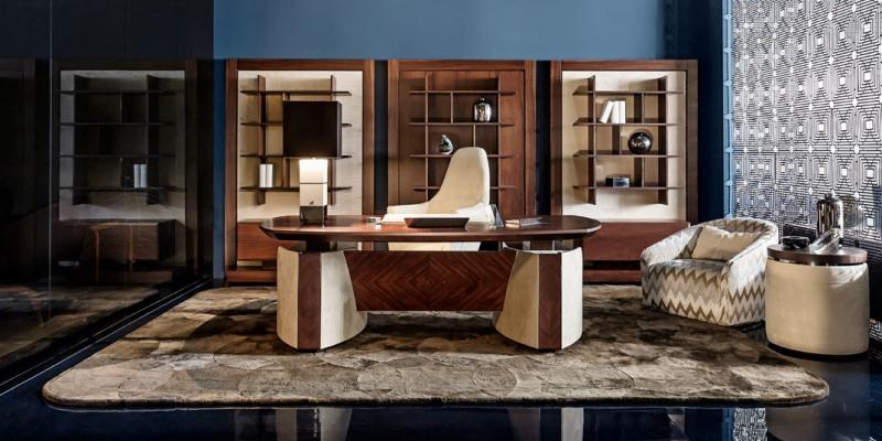 Smania classic decor office